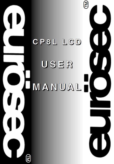 Eurosec CP8L User Manual