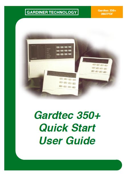 Gardtec 350 User Manual