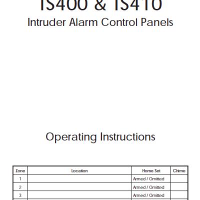 Menvier TS400 User Manual