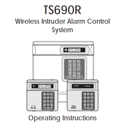 Menvier TS690R User Manual