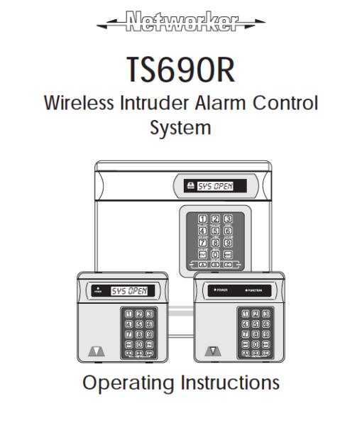 Menvier TS690R User Manual