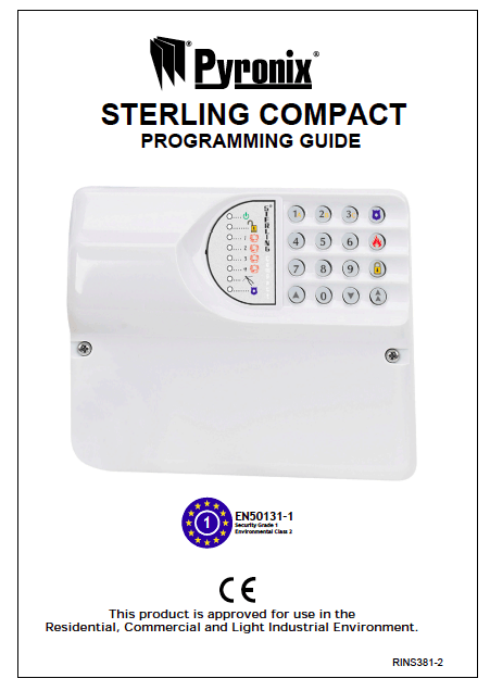 Pyronix Sterling Compact User Manual