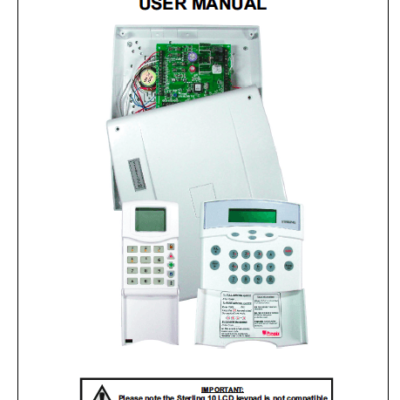 Pyronix Sterling 10 User Manual