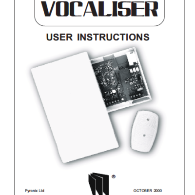 Pyronix Sterling Vocaliser User Manual
