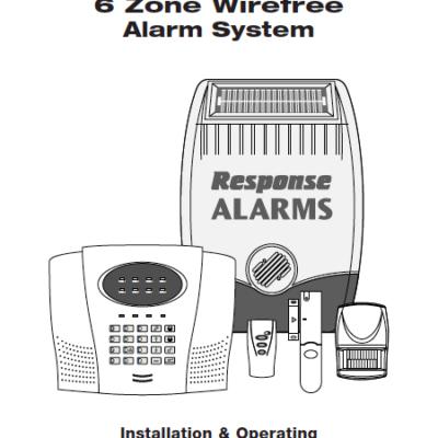 Response SA3 User Manual