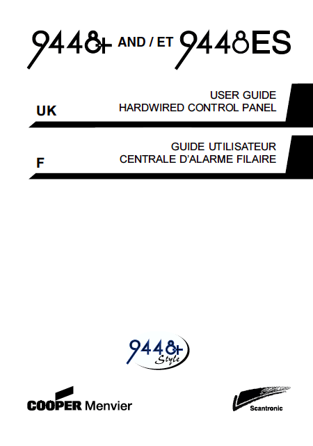 Scantronic 9448 User Manual