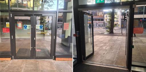 Automatic doors installation Belfast