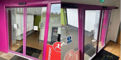 Automatic door repairs Belfast